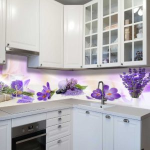 Кухонный фартук для кухни в стиле прованс