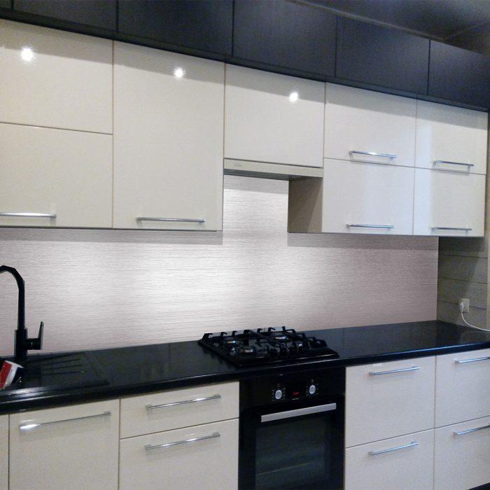 Стеклянная панель для кухни лофт