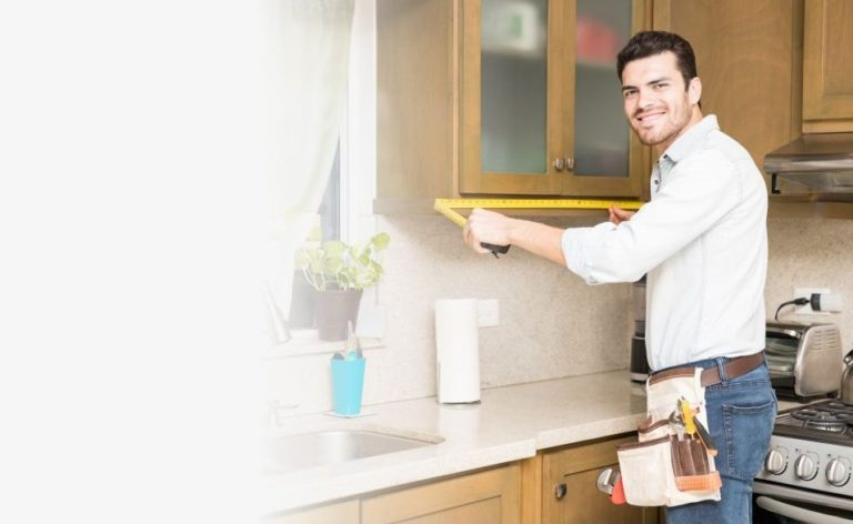 замер фартука для кухни