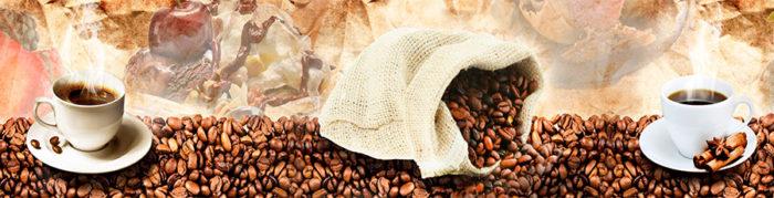 Фартук для кухни Кофейная тема