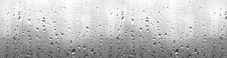 Скинали Капли воды на стекле