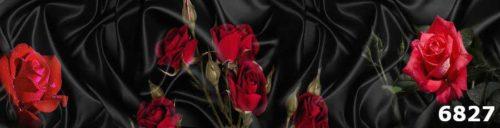 Фартук для кухни с розами