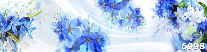 Скинали для кухни фото цветов пеларгонии