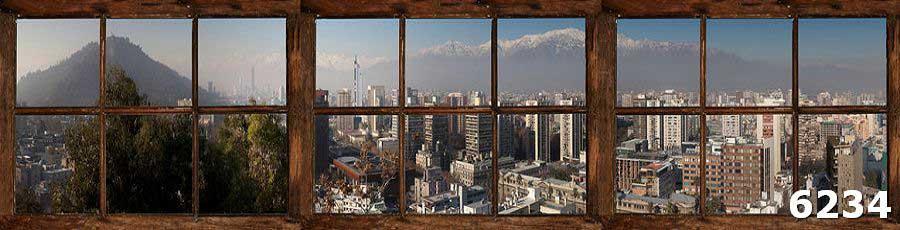 Скинали Город в окне