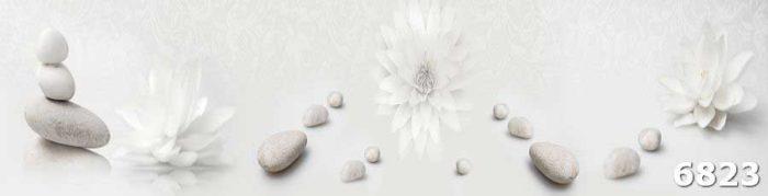 Скинали Цветы белые