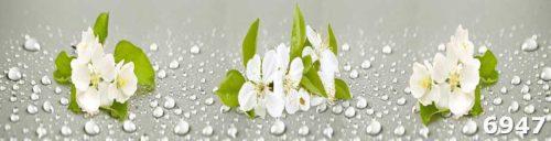 Белые цветы скинали