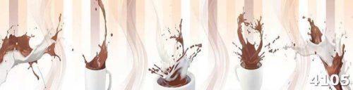 Скинали для кухни Кофе с молоком