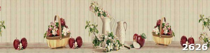 Скинали Натюрморт с фруктами и цветами