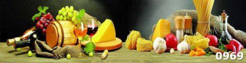 Скинали вино сыр