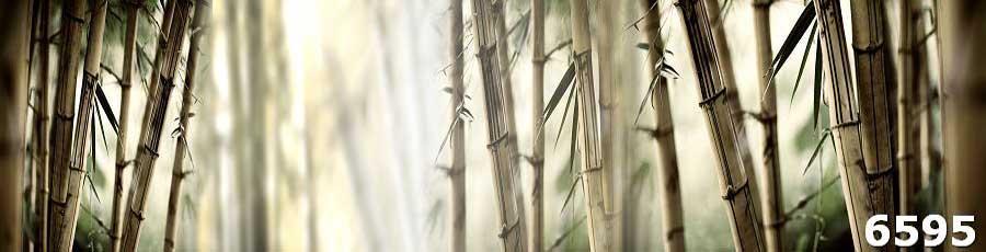 Стеклянный фартук Бамбук