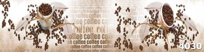 Стеклянный фартук Кофе