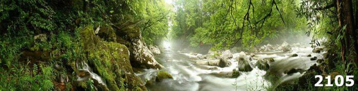 Фартук кухни Таинственная река