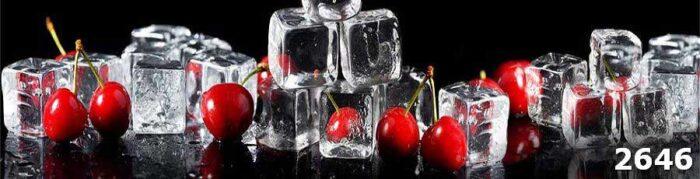 Фартук на кухню Вишня и лед