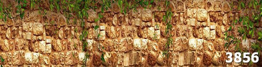 Стеновая панель скинали под камень