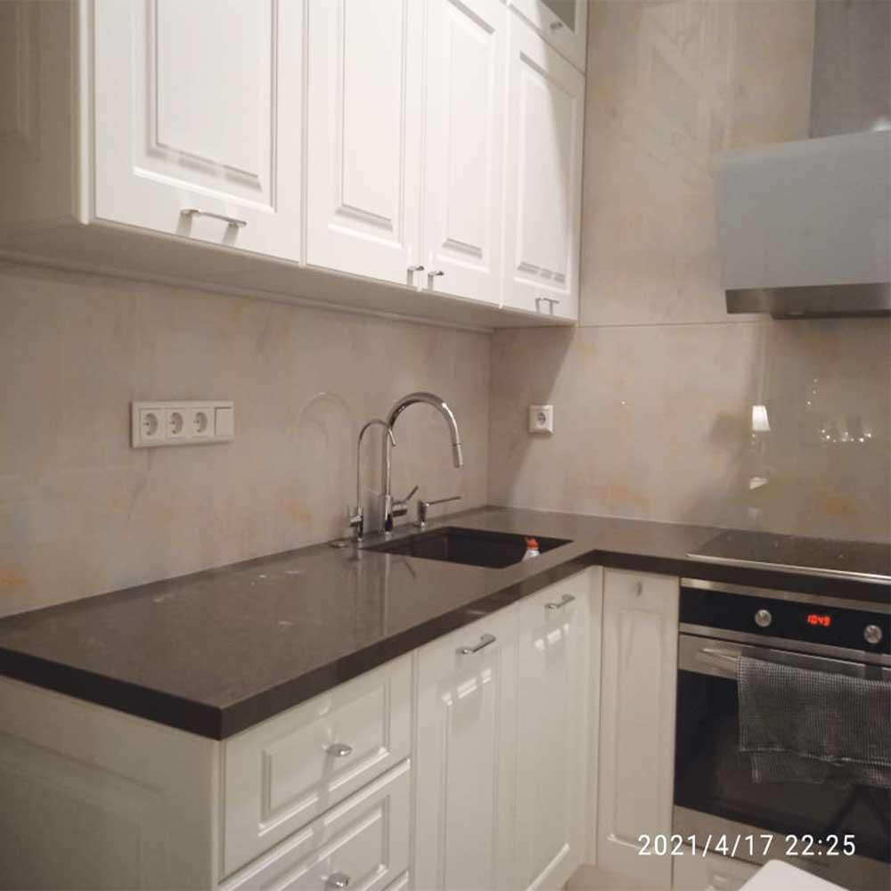 Фотопечать скинали фото на кухне