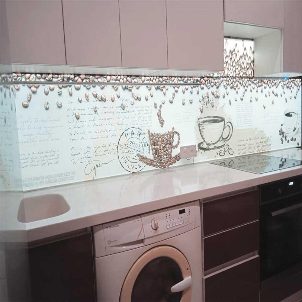 Фартук на кухню с подсветкой