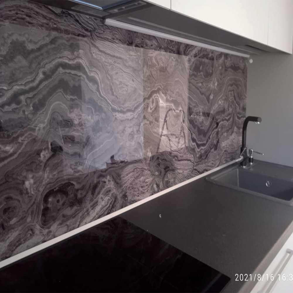 Фотопечать на стекло для кухни фотогрфия