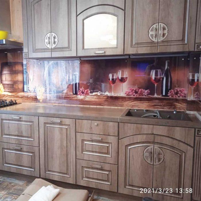 Скинали с фотопечатью для кухни
