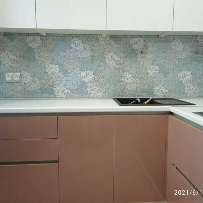 Стекло прозрачное фотография фартука для кухни